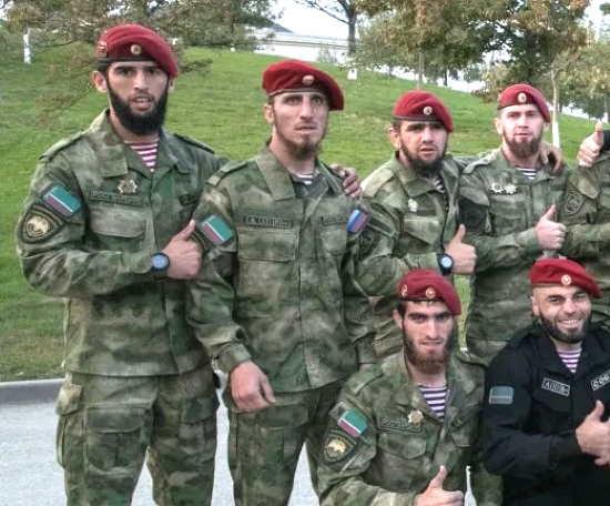 Продолжение скандала с Краповыми беретами в Чечне: На колени только перед богом. А здесь бога нет (2021)