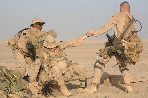 Морская пехота в афганистане