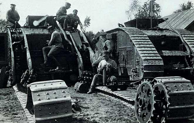 Первая мировая война великобритания
